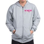 One Tough Chick Zip Hoodie