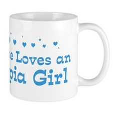 Loves Olympia Girl Mug