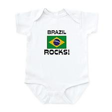 Brazil Rocks! Infant Bodysuit