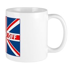Bugger off British Coffee Mug