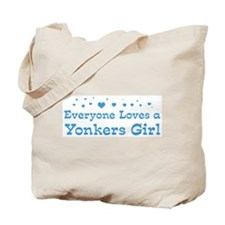 Loves Yonkers Girl Tote Bag