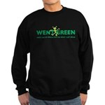 Went Green Alien Sweatshirt (dark)