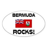 Bermuda Rocks! Oval Decal