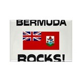 Bermuda Rocks! Rectangle Magnet