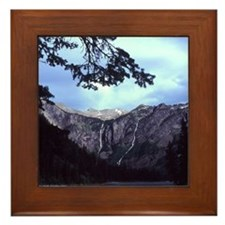 Framed Tiles featureing images of the Rockies.