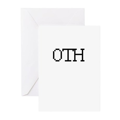 OTH - Off the hook Greeting Cards (Pk of 20)