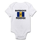 Barbados Rocks! Infant Bodysuit