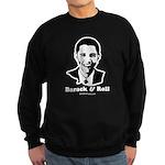Barack Obama Portrait Sweatshirt (dark)
