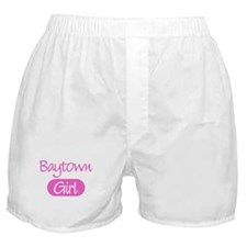 Baytown girl Boxer Shorts