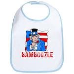 Uncle Sam Bamboozle Bib