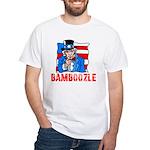 Uncle Sam Bamboozle White T-Shirt