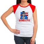 Uncle Sam Bamboozle Women's Cap Sleeve T-Shirt