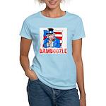 Uncle Sam Bamboozle Women's Pink T-Shirt