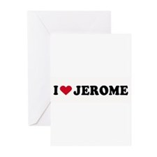 I LOVE BOYS ~ Greeting Cards (Pk of 20)