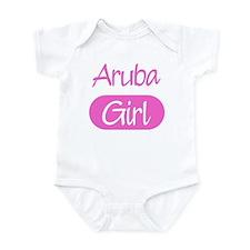 Aruba girl Infant Bodysuit