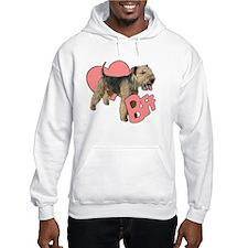 lakeland terrier heart Hoodie