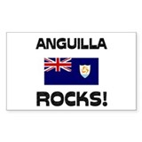 Anguilla Rocks! Rectangle Decal