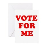 Vote for Me ~ Greeting Cards (Pk of 20)