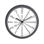 In This Moment Wall Clock