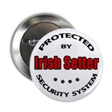 "Irish Setter Security 2.25"" Button"
