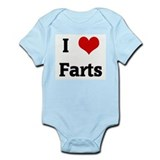 I Love Farts Infant Bodysuit