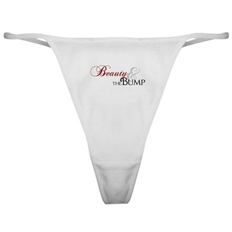 Beauty & The Bump Classic Thong