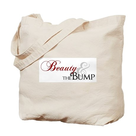 Beauty & The Bump Tote Bag