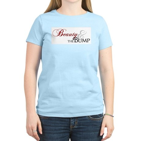 Beauty & The Bump Women's Light T-Shirt
