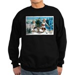 Christmas Tree Children Sweatshirt (dark)