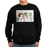 Christmas Gift Dreams Sweatshirt (dark)