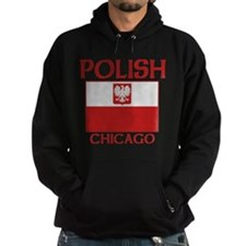 Chicago Polish Flag Hoodie