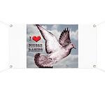 Love Pigeon Racing Banner