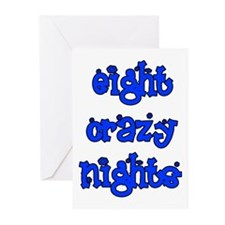 Eight Crazy Nights - Greeting Cards (Pk of 10)
