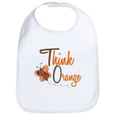 Think Orange 1 Butterfly 2 Bib