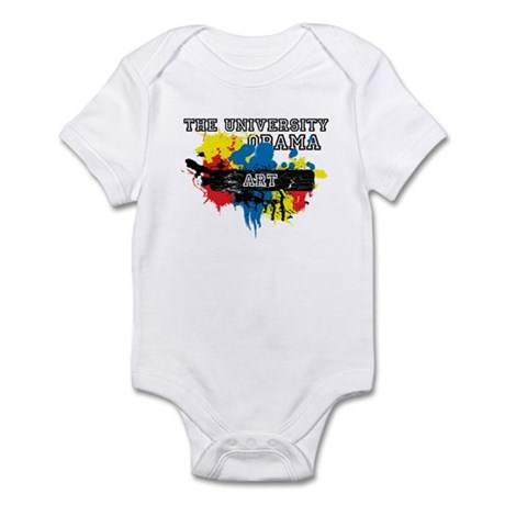 The University of Obama Art D Infant Bodysuit