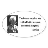 Mark Twain 44 Oval Decal