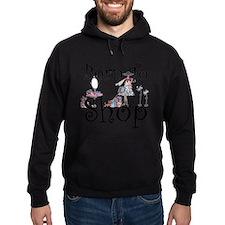 Born to Shop Hoodie (dark)