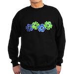 Hibiscus 2 Sweatshirt (dark)