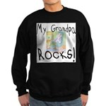 Grandpa Rocks 2 Sweatshirt (dark)