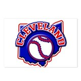 Cleveland Baseball Postcards (Package of 8)