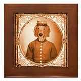 Golden BEAUREGARD Framed Tile