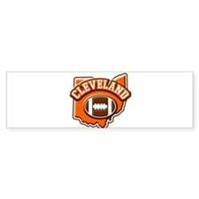 Cleveland Football Bumper Sticker (10 pk)