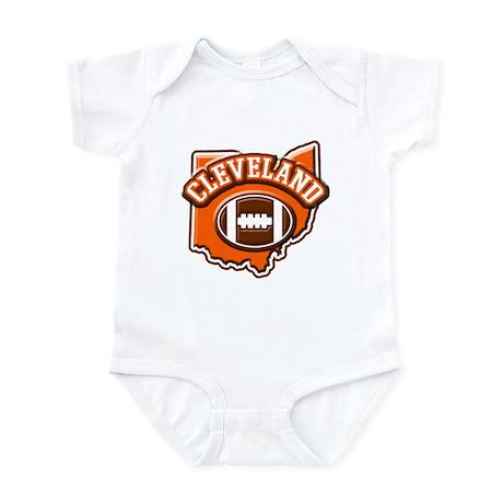 Cleveland Football Infant Bodysuit