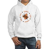 Hope Courage 1 Butterfly 2 ORANGE Hoodie