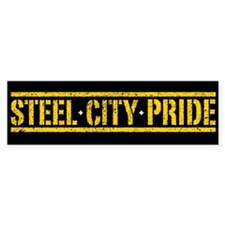 STEEL CITY PRIDE Bumper Bumper Sticker