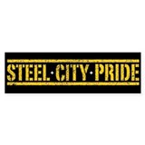 STEEL CITY PRIDE Bumper Car Sticker