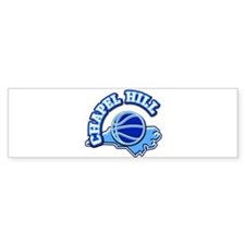 Chapel Hill Basketball Bumper Bumper Sticker