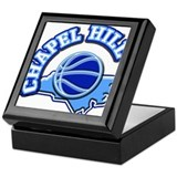 Chapel Hill Basketball Keepsake Box