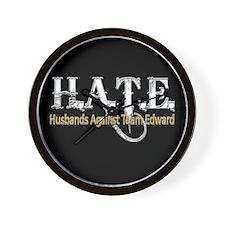 HATE - Husbands Against Team Wall Clock