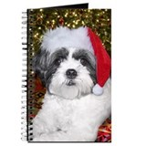 Christmas Shih Tzu Journal